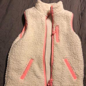 Girls Cat and Jack Sherpa vest